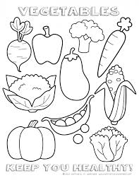 coloring pages for kindergarten printable healthy eating chart u0026 coloring pages activities