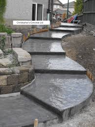 Seamless Stamped Concrete Pictures by Slate Finish Concrete Babylon Yahoo Search Results Outdoors