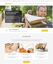 renovation theme 20 best home improvement wordpress themes web graphic design