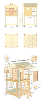 playhouse floor plans 31 free diy playhouse plans to build for your kids secret hideaway