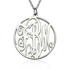 cheap monogram necklace cheap monogram necklace