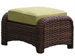 Cushion Ottoman South Sea Rattan St Tropez Wicker Cushion Ottoman 79306