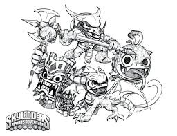 sheets coloring pages print skylanders book pdf giants