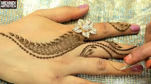 romantic girlish mehndi designs within 2 mints trendy henna