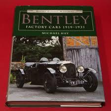 bentley factory factory cars 1919 1931