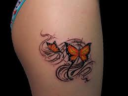 butterfly meaning thigh