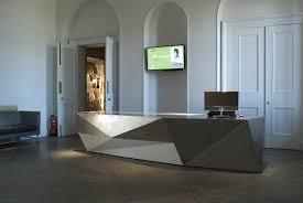 Minimalist Office Desk Home Office Beauty Salon Reception Desk White Design Office