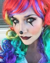 Halloween Cute Makeup Halloween Cute Clown Makeup For Women Makeup Pinterest