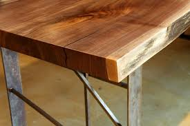 laguna live edge dining table modern industry modern industry