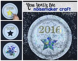 New Year S Homemade Decorations by New Year U0027s Eve Noisemaker Craft
