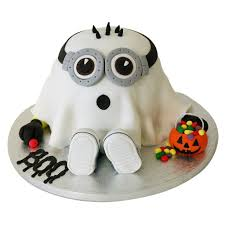 ghost minion cake 89 95 buy online free next day delivery