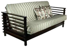 metal frame futon with mattress