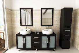 Used Bathroom Vanity For Sale by Double Lune Large Vessel Sink Modern Bathroom Vanity Cabinet