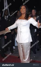 actress queen latifah world premiere her stock photo 97091624
