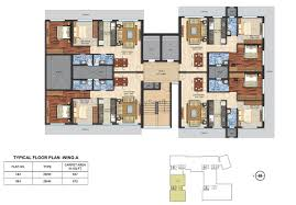 Typical Floor Plan Of A House by Alta Vista Chembur In Mumbai Price Reviews Location