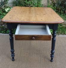 table cuisine tiroir table carr礬e pour cuisine plateau en bois naturel