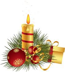 Christmas Candle Decoration Clipart Gallery Yopriceville High