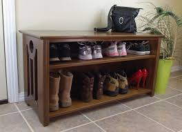 Bench Shoe Storage Bench With Shoe Storage Shoes Entryway Bench With