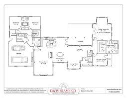 Single House Floor Plans by Bedroom Single Story Floor Plans One House Pardee Homes Laramie