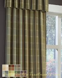 108 Inch Black And White Curtains Envoy Plaid Curtain Drapery Panels Plaid Curtains Plaid And 108
