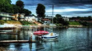 sailing tag wallpapers colorful nature sunset sea sailboats