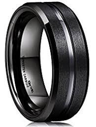 Black Wedding Ring by Mens Wedding Rings Amazon Com