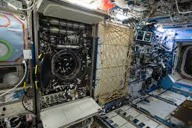 getting into the flow on the international space station nasa