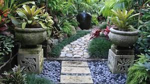 Tropical Rock Garden Tropical Landscaping Ideas Queensland Backyard Landscape Design