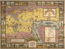 A Map Of The World Book by Illustrated Historical Map Of Shanghai Digital Commonwealth