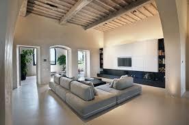 inspiring simple living room interior utilizes open space
