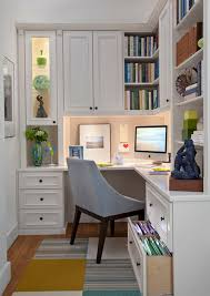 White Office Decorating Ideas Office Eclectic Home Office With Small Desk And Colorful Chair
