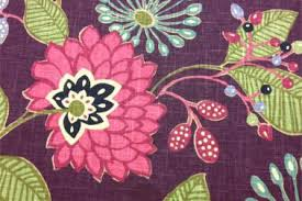 Pink Home Decor Fabric 13 Home Decor Fabric Floral Fabric Modern Purple Floral Fabric By