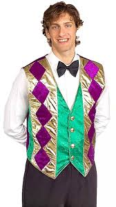 mardi gras tuxedo forum mardi gras vest green gold purple clothing