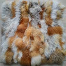 White Fur Cushions Online Get Cheap Fox Fur Pillow Aliexpress Com Alibaba Group