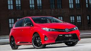 toyota corolla mag wheels toyota toughens up corolla with rz special edition