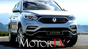 exclusive the all new 2018 suv all new 2018 ssangyong g4 rexton l features youtube