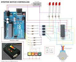 diy stepper controller using arduino night sky in focus circuit