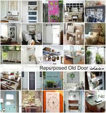 repurposed old door ideas the idea room