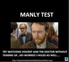 Vincent Meme - the monday meme manly test arcadia pod