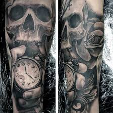100 pocket watch tattoo designs for men cool timepieces