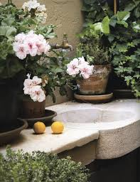 Outdoor Sink Ideas 155 Best Outdoor Sinks U0026 Potting Benches Images On Pinterest