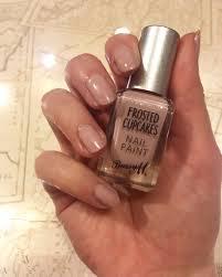 barry m nail polish frosted cupcake the csi girls nail