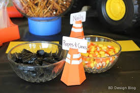 construction birthday party construction birthday party food ideas painted confetti