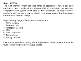How To List Military Service On Resume Fault Tolerance System