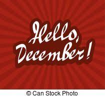 imagenes hola diciembre diciembre caligrafía hola mano dibujado letras clipart