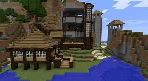 house mountain house builders modern underground minecraft cozy