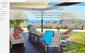 accommodation website design hotel u0026 holiday home om4 perth