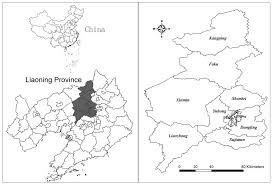Shenyang China Map by Sustainability Free Full Text Emergy Based City U0027s
