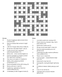 latest resume format 2015 for experienced crossword national post cryptic crossword forum monday july 6 2015 dt