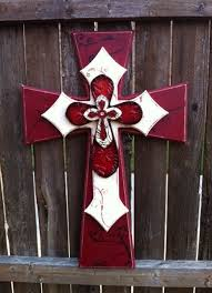 wood crosses for crafts layered wooden crosses maroon and large layered wood cross